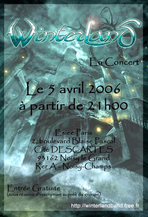 Concerts ESIEE Paris Flyerkfet